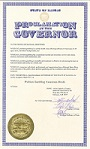 governor proclamation problem gambling awareness march 2017